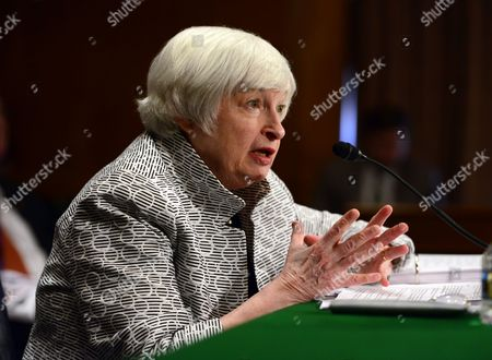 Janet L. Yellen, Chair, Board of Governors of the Federal Reserve System, testifies before the United States Senate Committee on Banking, Housing, and Urban Affairs on 'The Semiannual Monetary Policy Report to the Congress' on Capitol Hill in Washington, DC.