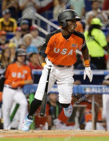 Editorial picture of All Star Futures Game Baseball, Miami, USA - 09 Jul 2017