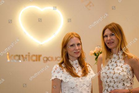 Editorial photo of Fleurs De Paris x Kaviar Gauche presentation, Duesseldorf, Germany - 13 Jul 2017