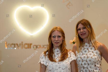 Editorial picture of Fleurs De Paris x Kaviar Gauche presentation, Duesseldorf, Germany - 13 Jul 2017