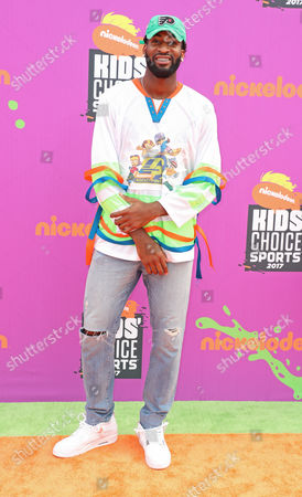 Editorial picture of Nickelodeon Kids' Choice Sports Awards, Arrivals, Los Angeles, USA - 13 Jul 2017