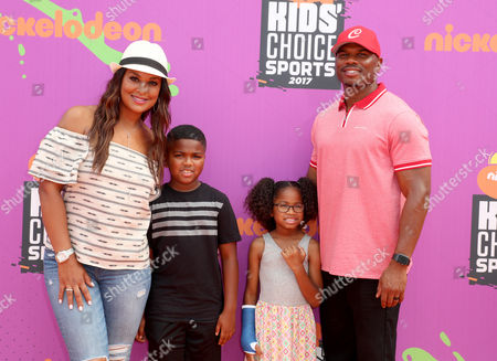 Editorial image of Nickelodeon Kids' Choice Sports Awards, Arrivals, Los Angeles, USA - 13 Jul 2017