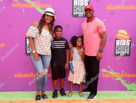 Laila Ali, Sydney J. Conway, Curtis Muhammad Conway Jr. and Curtis Conway