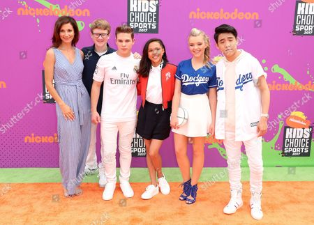 Stock Picture of Jama Williamson, Aiden Miner, Ricardo Hurtado, Brenna Yde, Jade Pettyjohn and Lance Lim