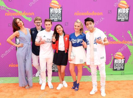 Editorial photo of Nickelodeon Kids' Choice Sports Awards, Arrivals, Los Angeles, USA - 13 Jul 2017