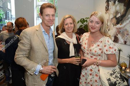 James Ogilvy, Julia Ogilvy and Flora Ogilvy