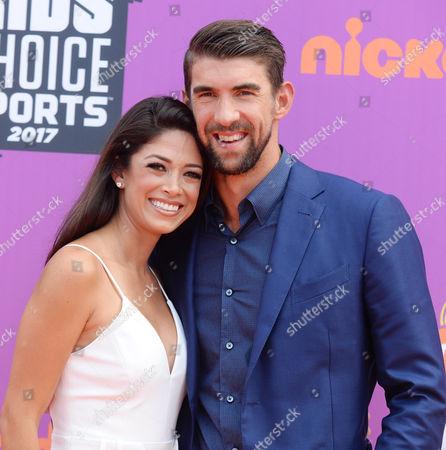 Michael Phelps and wife Nicole Johnson