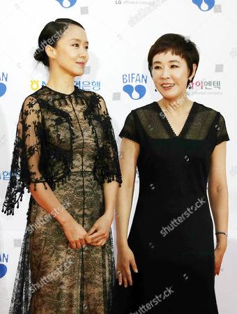 Choung Kyung-ho and Jang Na-ra