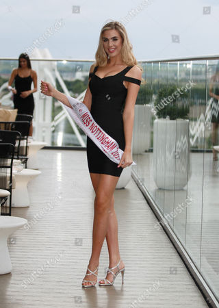 Editorial photo of Miss England, Finals, Catwalk Hair and Top Model Award Round, Birmingham, UK - 13 Jul 2017