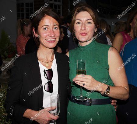 Stock Photo of Thea Rogers and Gabby Bertin