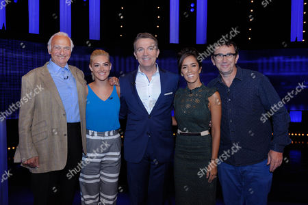 Stock Picture of (Ep 4) Roy Hudd, Isabel Hodgins, Bradley Walsh, Janette Manrara and Phil Daniels