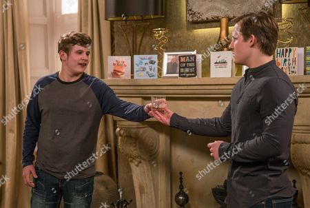 It's Lachlan White's, as played by Thomas Atkinson, birthday and tonight's supposed to be the night with Belle Dingle, as played by Eden Taylor-Draper. Chrissie White, as played by Louise Marwood, is unusually warm towards Lachlan and Gerry, as played by Shaun Thomas, plans a nasty surprise for Lachlan by spiking his drink with a laxative. (Ep 7889 - Wed 26 Jul 2017)