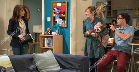 Laurel Thomas, as played by Charlotte Bellamy, attempts to encourage Finn Barton, as played by Joe Gill, to open up about Emma Barton, as played by Gillian Kearney, and James. In the middle of their conversation, Emma unexpectedly arrives home from her prayer retreat. Laurel quickly leaves but Emma's unnerved by her presence. (Ep 7893 - Mon 31 Jul 2017)