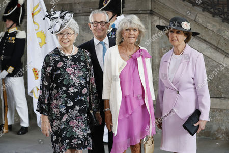 Princess Christina, Tord Magnuson, Princess Birgitta, princess Desiree