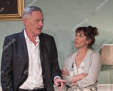 Michael Simkins as Hugh, Alexandra Gilbreath as Gill;