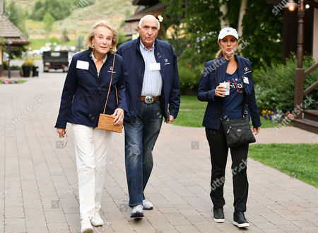 Elaine Langone, Kenneth Langone, co-founder Home Depot and Rebecca Cooper