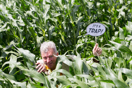 Tim Rose at the Skylark Star Wars Amazing Maize Maze