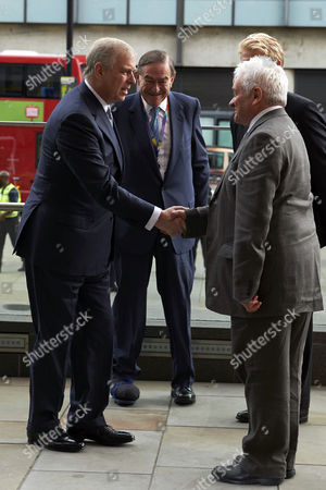Prince Andrew and Paul Nurse
