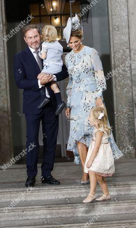 Chris O'Neill, Princess Madeleine, Princess Leonore, Prince Nicolas