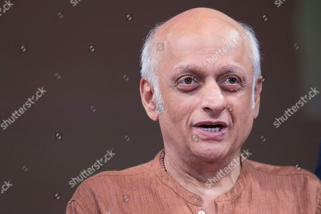Stock Photo of Film producer Mukesh Bhatt speaks during a panel discussion on Media and Entertainment at the Asia Society, in New York