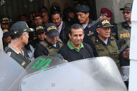 Nadine Heredia and Ollanta Humala
