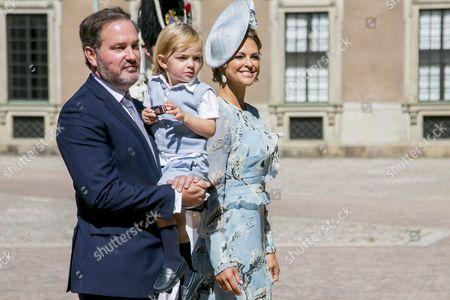 Princess Madeleine, Chris O'Neill, Prince Nicolas