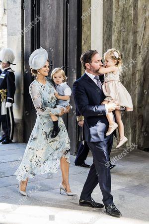 Princess Madeleine, Prince Nicolas, Chris O'Neill, Princess Leonore