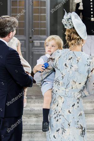 Chris O'Neill, Prince Nicolas, Princess Madeleine