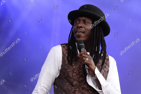 Senegalese musician Faada Freddy performs live during Les Vieilles Charrues Festival in Carhaix, France, 14 July 2017 (issued 15 July 2017). The music festival runs from 13 to 16 July.