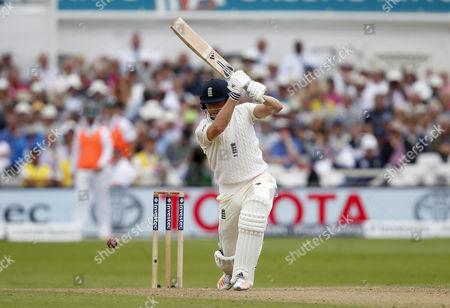 England's Jonathan Bairstow drives