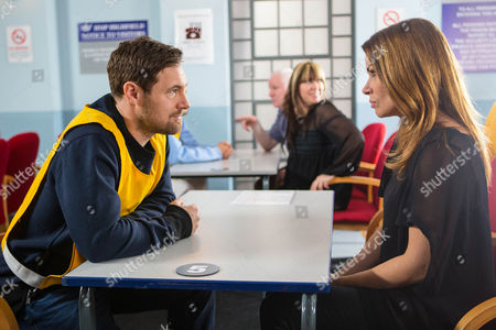Ep 8809 Monday 4th January 2016 - 1st EP Visiting Rob Donovan, as played by Marc Baylis, in prison, Rob tells Carla Connor, as played by Alison King, that if Johnny doesn't pay up, he'll reveal the truth to Aidan and Kate. Pointing out it's not her problem, Carla leaves.