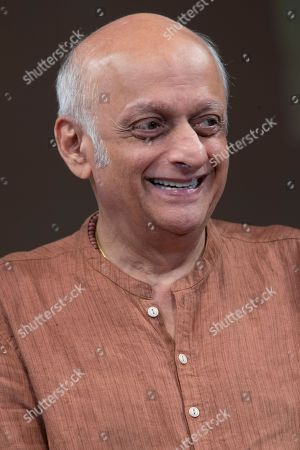 Stock Picture of Film producer Mukesh Bhatt speaks during a panel discussion on Media and Entertainment at the Asia Society, in New York