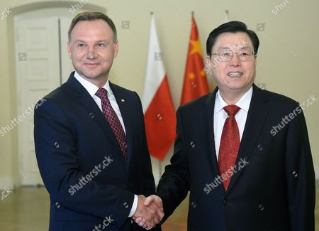 Andrzej Duda and Zhang Dejiang