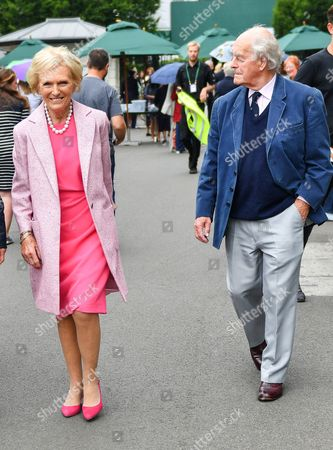Stock Picture of Mary Berry and husband Paul Hunnings