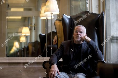 US writter Michael Connelly poses for the photographer during an interview with Spanish News Agency EFE held in Barcelona, Catalonia, Spain, 16 July 2017. The interview was to present his last novel 'The Burning Room'.