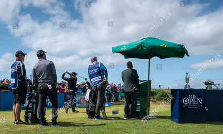 Editorial photo of The Aberdeen Asset Management Scottish Open Golf Chamionship, 4th Round, Dundonald Links, Ayrshire, UK, 16 July 2017