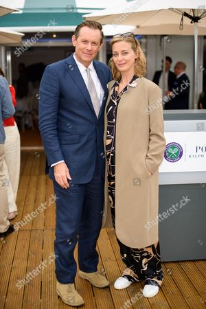 Editorial image of The Polo Ralph Lauren VIP Suite, The Championships day 13, Wimbledon, London, UK - 16 Jul 2017