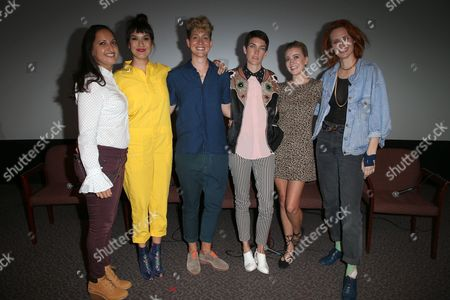 Lucy Mukerjee-Brown, Zoe Chao, Mia Lidofsky, Celia Rowlson-Hall, Meredith Hagner, Breeda Wool