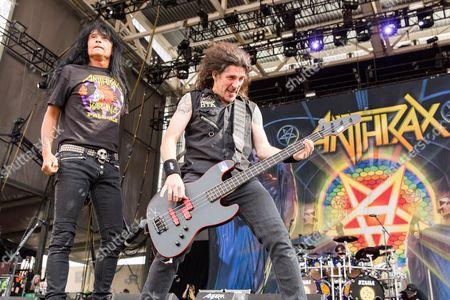 Anthrax - Joey Belladonna and Frank Bello