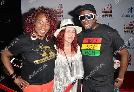 Gramma Funk, Stacey D. Barker, Sir Jones