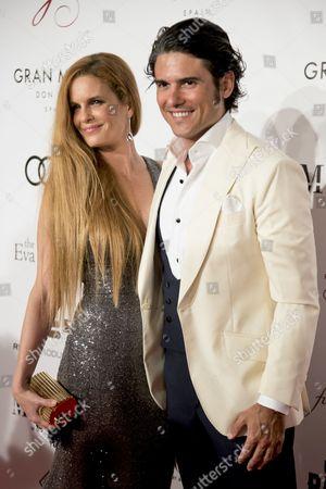 Olivia de Borbon and Julian Porras