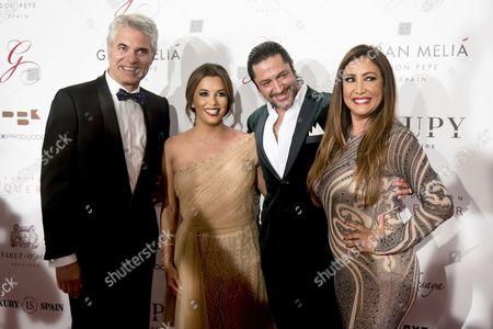 Agustin Bravo, Eva Longoria, Rafael Amargo and Maria Bravo