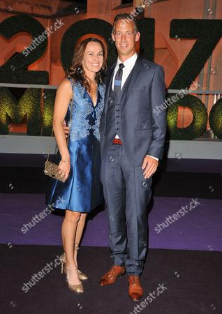 Martina Hingis and Thibault Hutin