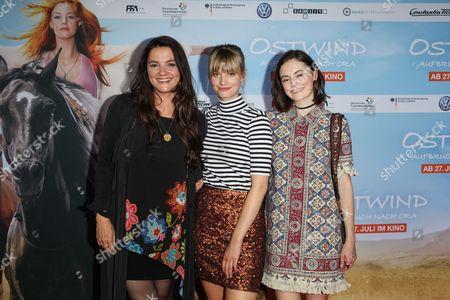 Katja von Garnier, Hanna Binke, Lea van Acken,