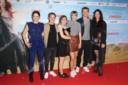 Nicolette Krebitz, Marwin Linke, Amber Bongard, Hanna Binke, Jannis Niewöhner, Katja von Garnier,
