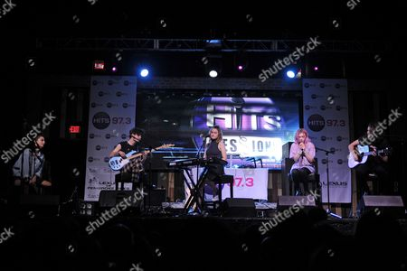 Editorial image of Hey Violet perform during 97.3 Hits Sessions at Revolution, Fort Lauderdale, Florida, USA - 16 Jul 2017