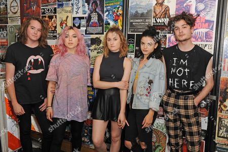 Casey Moreta, Rena Lovelis, Miranda Miller, Nia Lovelis, Iain Shipp