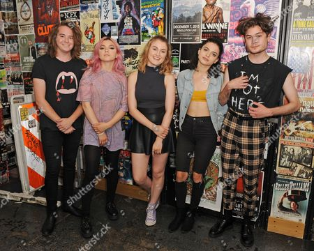 Editorial picture of Hey Violet perform during 97.3 Hits Sessions at Revolution, Fort Lauderdale, Florida, USA - 16 Jul 2017