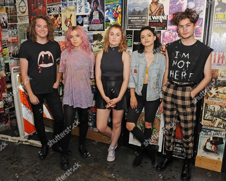 Editorial photo of Hey Violet perform during 97.3 Hits Sessions at Revolution, Fort Lauderdale, Florida, USA - 16 Jul 2017