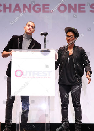 Editorial picture of Closing Night Gala, Outfest Film Festival, Los Angeles, USA - 16 Jul 2017